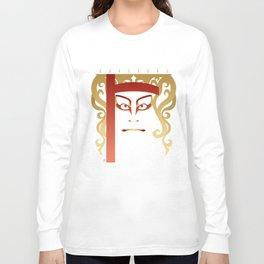 Sukeroku - a Kabuki Portrait Long Sleeve T-shirt