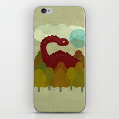 RED DINO iPhone & iPod Skin
