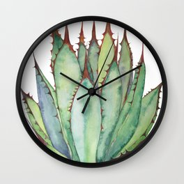 Sword Agave Wall Clock