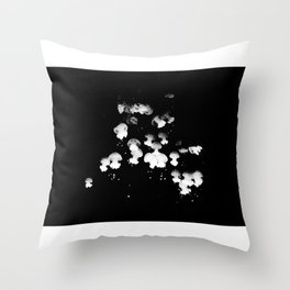 Upside down you turning me! Throw Pillow