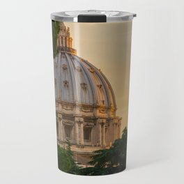 Sunset At The Vatican Travel Mug