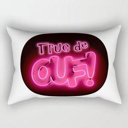 French expression - Truc de ouf! Rectangular Pillow