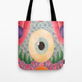 The Beholder(An Astronaut's Journey Through the Breathing Chapel) Tote Bag