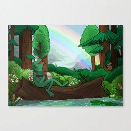 rainbow connection. Canvas Print