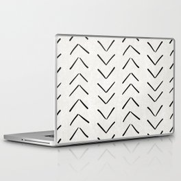 Mud Cloth Big Arrows in Cream Laptop & iPad Skin