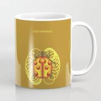 jojo Mugs featuring GOLD EXPERIENCE - PRINCE - JOJO -  by Mirco Greselin