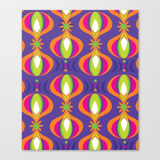 Oohladrop Purple Canvas Print