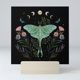 Luna and Forester Mini Art Print