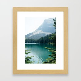 Glacier National Park II Framed Art Print
