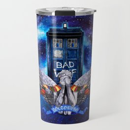 The Angel with Tardis Travel Mug