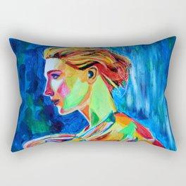 Cate Blanchett by Annie Leibovitz Rectangular Pillow