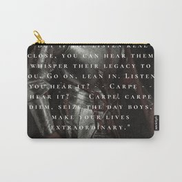 POET SOCIETY. Carry-All Pouch