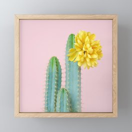 She wore flowers in her hair Framed Mini Art Print