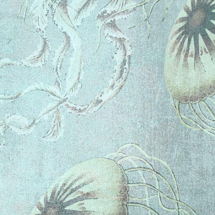 Jellyfish Underwater Aqua Turquoise Art Leggings