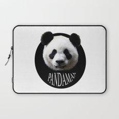 Panda cool man colors fashion Jacob's Paris Laptop Sleeve