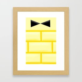 Bill Cipher's Shirt Framed Art Print