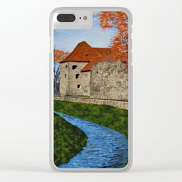 River next to the Castle Clear iPhone Case