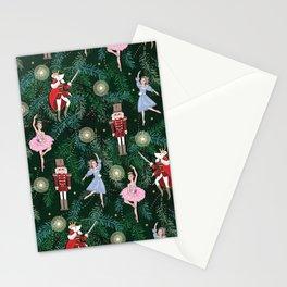 The Nutcracker Christmas Tree Ornaments Stationery Cards
