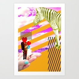love strokes Art Print