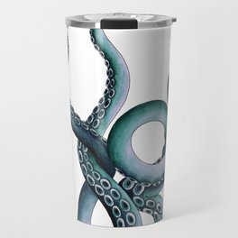 Kraken Teal Travel Mug
