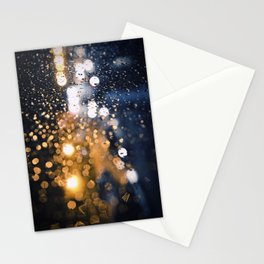 Luces nocturnas Stationery Cards