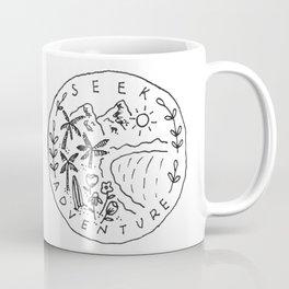 Seek Adventure Coffee Mug