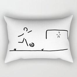 soccer player Rectangular Pillow