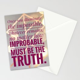 illuminate the impossible Stationery Cards