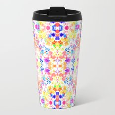 Floral Print - Brights Travel Mug