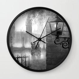 Sunday Stroll Wall Clock