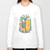 unicorn Long Sleeve T-shirts featuring Unicorn by Seaside Spirit