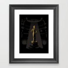 And the C3POscar goes to... Framed Art Print