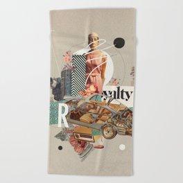 Spirited Royalty Beach Towel