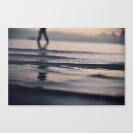 Swim 'til you can't see land Canvas Print