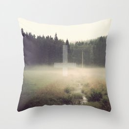 Our Woods Throw Pillow