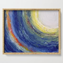 Color Burst - Painting Serving Tray