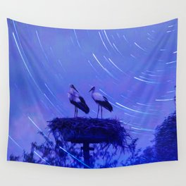 Two storks  003 11 10 17 Wall Tapestry