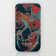 Rooster Skull  Slim Case Galaxy S5