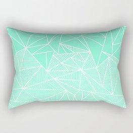 Becho Rays Rectangular Pillow