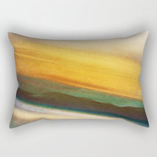 Time Flows Rectangular Pillow