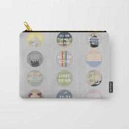 EVAK: A MINIMALIST LOVE STORY VOL. II Carry-All Pouch