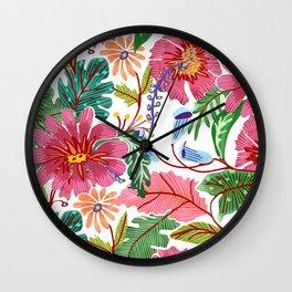 Freshly Cut Wall Clock
