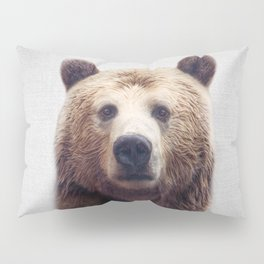 Bear - Colorful Pillow Sham