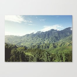 Morning Mountains  Canvas Print