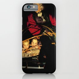 Joseph Wright of Derby - A Philosopher Lecturing on the Orrery iPhone Case