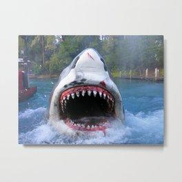 Shark Attack III! Metal Print