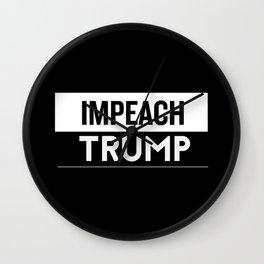 IMPEACH TRUMP - The World Demands Wall Clock