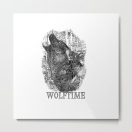 Time of the Wolf Metal Print