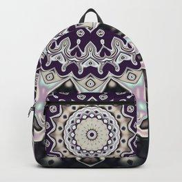 Black and white mandala (almost) Backpack