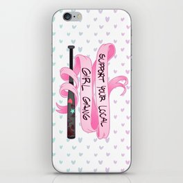 Support Your Local Girl Gang! iPhone Skin